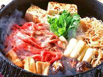 【すき焼き】松永牛の上質な味わいにほっぺたも落ちます♪※画像はイメージです。