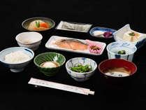 *【朝食】】地元産のお米「美都ひかり」を使用し和定食をご用意しております♪