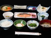*【朝食】お米は地元産、合鴨農法の「美都ひかり」を使用しています!