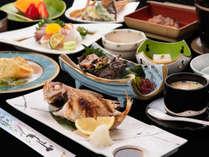 *【夕食一例】日本海の赤い宝石とまで言われる「のどぐろ」!塩焼きはまさに絶品★