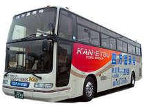 【東京⇔四万】直通バス「四万温泉号」の予約手配も致します。お気軽にお申し付けください。