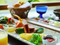 [選べる朝食]洋食 思わず写メをとってしまいたくなるような洋食は女性に人気