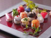 愛らしい手まり寿司…食べてしまうのがもったいないくらい