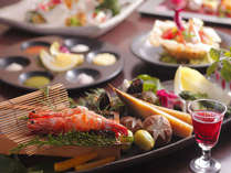 季節の地野菜と海鮮の美味しさをダイレクトに愉しんで頂ける創作会席