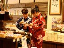 【佳松苑本館】1階ロビー脇にはお土産ショップもございます。