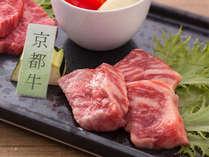 希少な京都牛をステーキでお愉しみ下さい