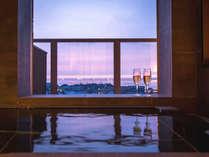 【特別フロア】客室展望風呂から日本海を一望!より開放的に生まれ変わりました。