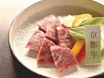 希少な京都牛をステーキでお楽しみください。【一例】