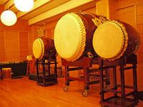 当館の名物『大太鼓』は西日本最大!!必見です♪