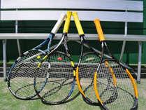 いつもとは違う場所でテニスをお楽しみください