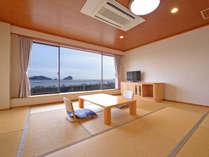◆和室一例◆日本海を眺めながらお過ごし下さい★