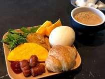 【朝食】ビュッフェスタイルでご用意しております。