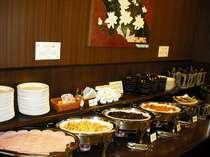 ◆無料!和洋バイキング朝食◆料理は日替わり♪お楽しみに♪