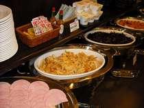 ◆無料朝食バイキング◆料理は毎日日替わりです♪