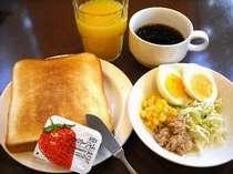 ☆無料バイキング朝食☆