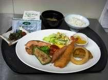 ☆無料バイキング朝食☆和食派の方にはこんな取り方も出来ます♪