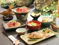 野沢の郷土料理と信州牛が味わえる基本プラン※一例