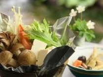 道祖神鍋 旬の食材を詰め込んだボリューム満点のお鍋♪