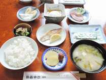 *【朝食一例】健康的な和定食