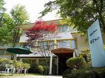 旧軽井沢ホテル 東雲サロン