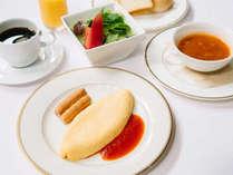 軽井沢で目覚める爽やかな朝の訪れ。朝食一例