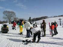 **当館はスキー場「スノーパル・オグナほたか」に最も近い宿♪