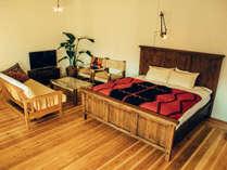 最高級の家具や照明のみを使い、作り上げた洗練された空間。