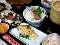 *【お夕食イメージ】青森の新鮮な食材を使用し、女将が心を込めて作った和食膳!