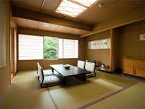 特別室の10帖間は純和風の落ち着いた佇まいです。