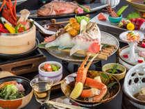 海鮮しゃぶしゃぶやズワイ蟹、日本酒にぴったりのお魚会席♪