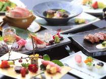 【ご夕食】旬を散りばめた和洋創作会席コース※画像はイメージ