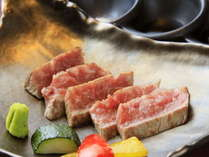 【ご夕食】メインはステーキ※イメージ