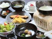 鳴子風雅流の朝食をご用意いたします※イメージ画像