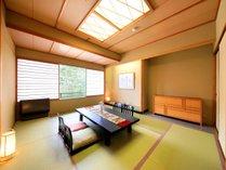 【温泉展望風呂付客室】和室スペース