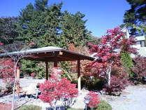 和の安らぎと近代的設備を合わせ持つ大きめな貸し別荘です。