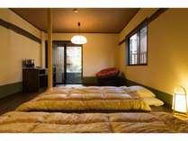 しし座(107号室)ゆったりと何度も温泉を満喫!。※お部屋の1例です。