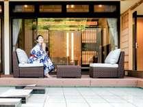 別邸【アクア】上品さが漂う洗練された優美な空間。大切な方とともに過ごす贅沢な時間を。