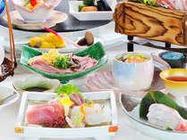 しお風会席イメージ(本館三楽荘のお食事会場でご用意します