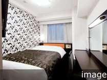 スタンダードルーム(※イメージ※広さ11平米/ベッド幅140cm×1台)