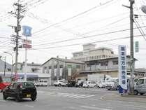 「熊本の台所」通称「田崎市場」が目の前!