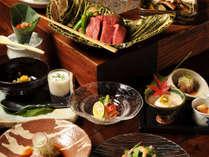 *奥飛騨の恵みを手間ひまかけて逸品に仕立てるなど、旬の味覚を楽しんでいただける料理です。