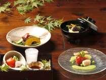 *飛騨の食材を使用した夏の新・奥飛騨懐石
