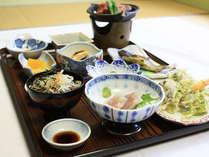 *【梅花皮コース(一例)】基本に2品追加されたお料理内容。