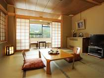 東山に面した10畳プラス広縁付和室(一例)