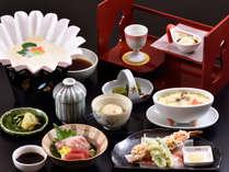 料理長おまかせ京会席料理イメージ