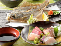 【平日限定♪和食お得プラン】海の幸たっぷりの会席!お食事場所は絶景夕日のレストラン♪温泉ありますよ!