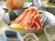 【早期割45】石焼の山古志牛!蒸しずわい蟹もついた山海の味満喫のスタンダードプラン■