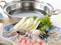 【夏の和食】日本海の幸を満喫の海鮮しゃぶしゃぶ&新潟ブランド牛の石焼で贅を満喫【1泊2食付】