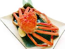 冬の味覚の蟹を姿で♪