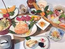 冬季【福浦会席一例】四季を通じて「日本海の海幸・山幸」を堪能下さい。